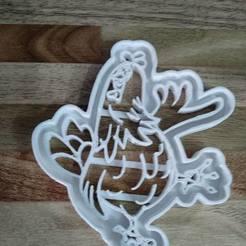 3d printer files Cut Cookie Granja de Zenon, blop3d