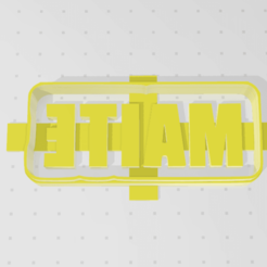 Descargar archivos 3D CUTTER COOKIE CUT MAITE, blop3d