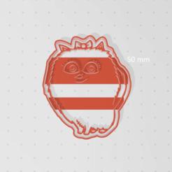 Imprimir en 3D cut cookie max chihuahua, blop3d