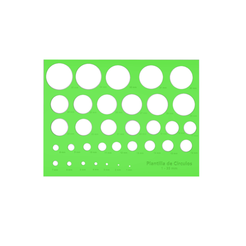 Download 3D printing files Template of circles, tb3D