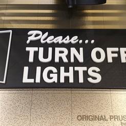 Descargar modelos 3D gratis Señal de apagar las luces, junkie_ball