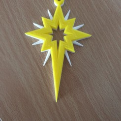 Download free 3D printing templates Christmas Tree Star Decoration, junkie_ball