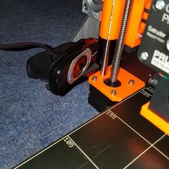 Free 3D file Prusa i3 Mk2S Camera Mount (Using standard tripod mount), junkie_ball