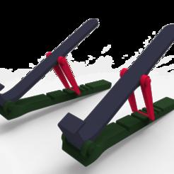 untitled.105.png Télécharger fichier STL Support informatique ajustable Renforcé • Design à imprimer en 3D, joakinfontana