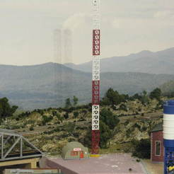 Download free 3D printer model HO Scale Broadcast Tower and Office, kabrumble