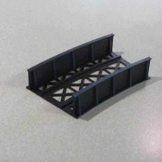 Télécharger fichier STL gratuit Pont à l'échelle HO 20° à 44CM • Design imprimable en 3D, kabrumble
