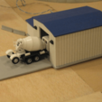Free 3D printer model HO Scale Truck Repair Garage, kabrumble