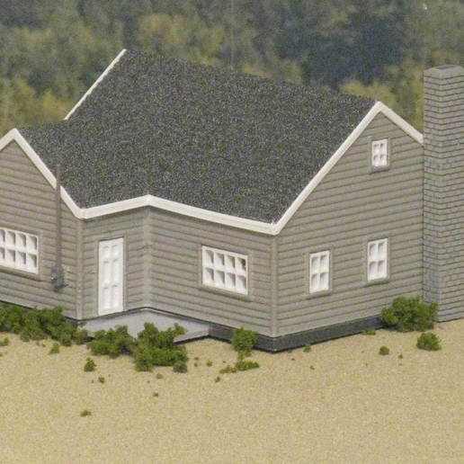 The_Cape_Cod_2.JPG Download free STL file HO Scale The Cape Cod • 3D printer template, kabrumble