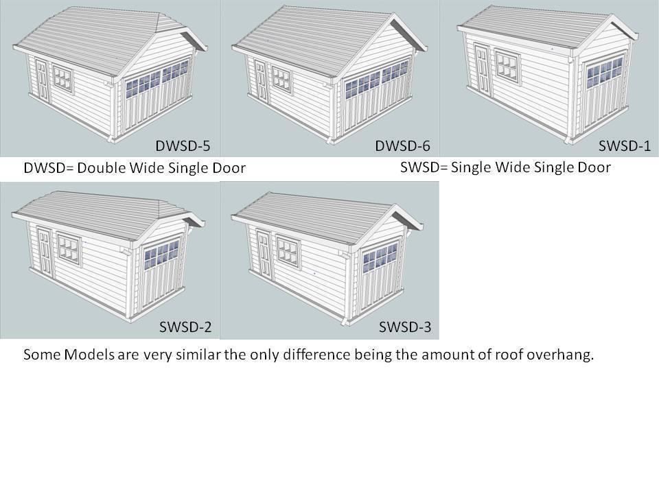 Door_Models_2.jpg Télécharger fichier STL gratuit Garages à l'échelle HO 28 Options • Design imprimable en 3D, kabrumble