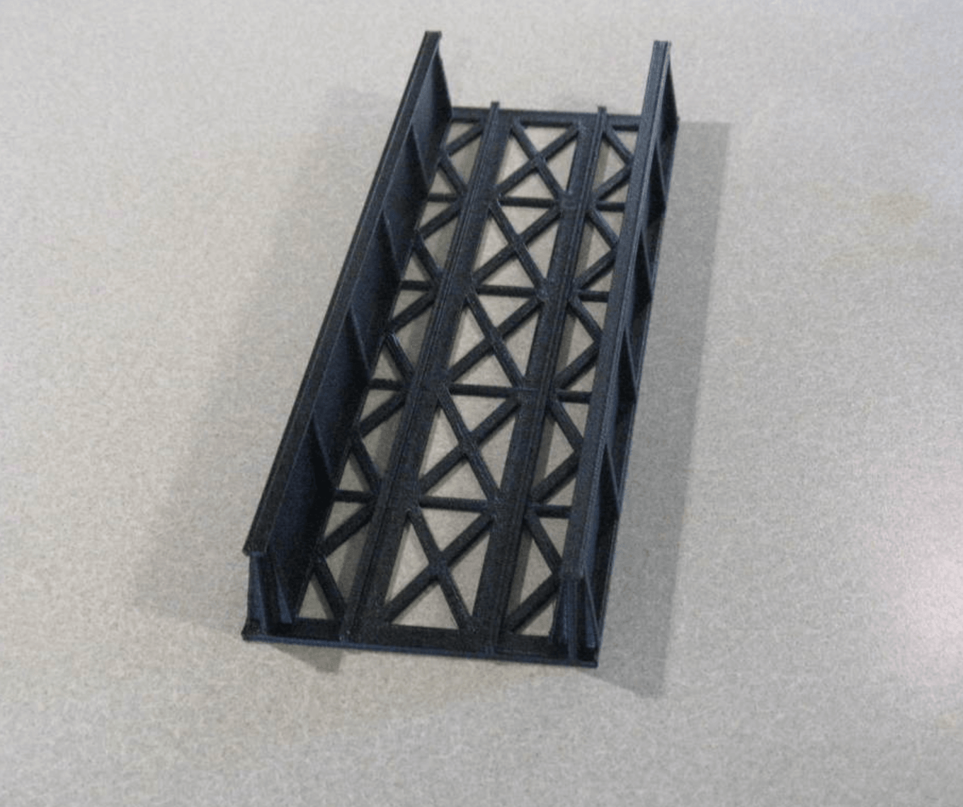 Capture d'écran 2018-05-15 à 09.55.26.png Download free STL file HO Scale Straight Bridge • 3D printing model, kabrumble