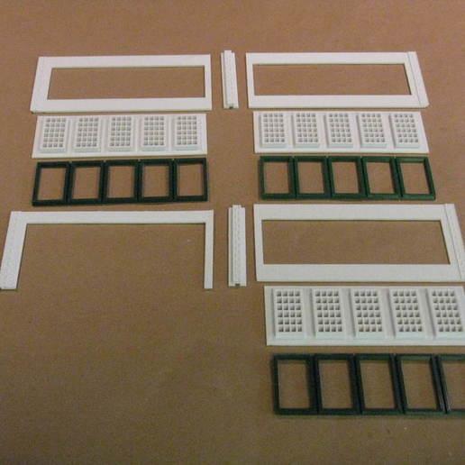IMG_6571.JPG Télécharger fichier STL gratuit Maison des moteurs à deux étages à l'échelle NEW HO • Plan à imprimer en 3D, kabrumble