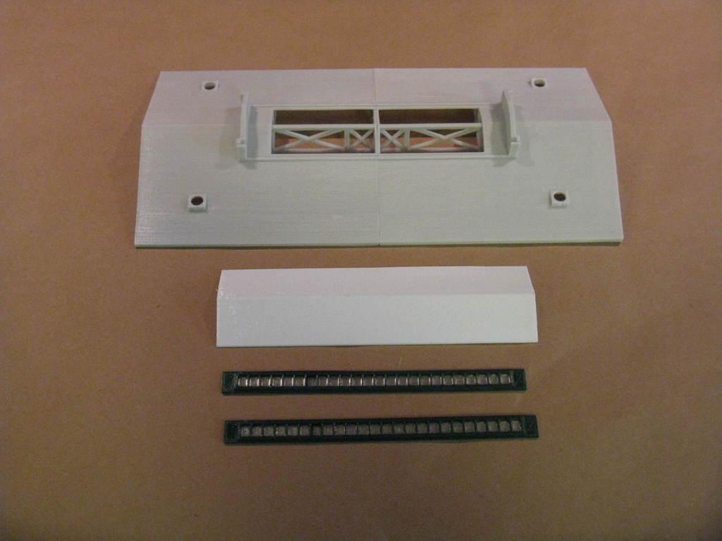 IMG_6567.JPG Télécharger fichier STL gratuit Maison des moteurs à deux étages à l'échelle NEW HO • Plan à imprimer en 3D, kabrumble