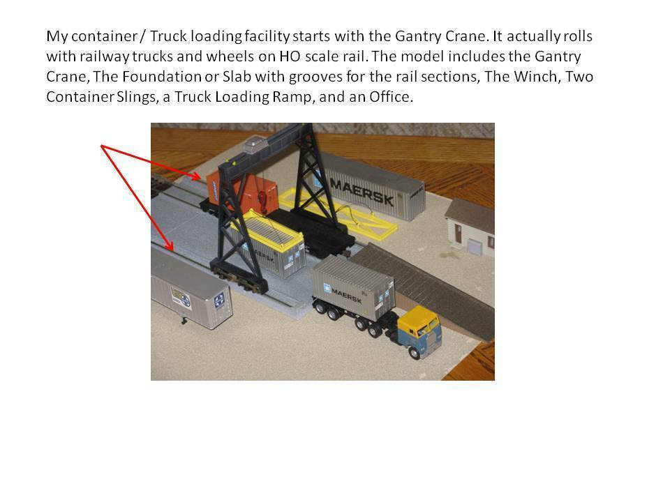 Download Free Stl File Ho Scale Container And Truck