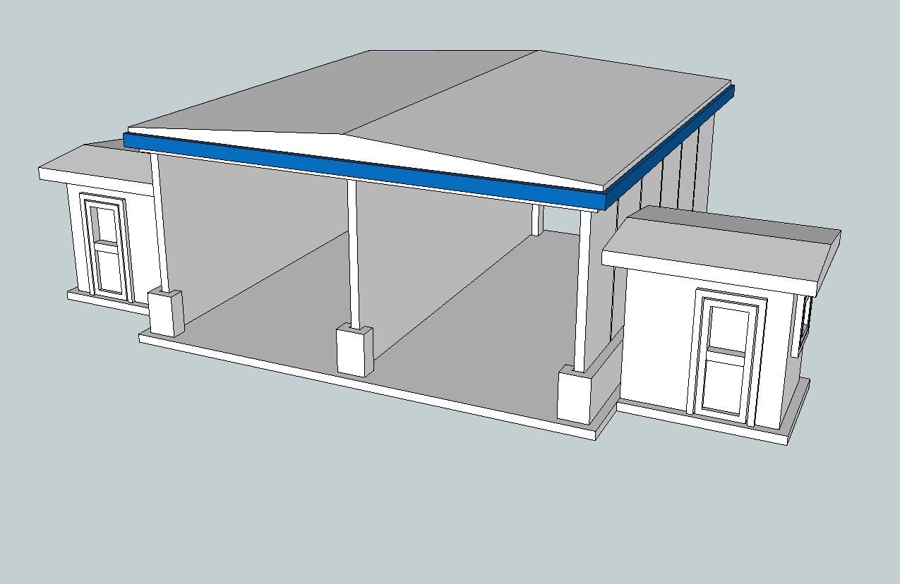 Car_Wash_001.jpg Télécharger fichier STL gratuit Lave-auto à l'échelle HO • Design pour impression 3D, kabrumble