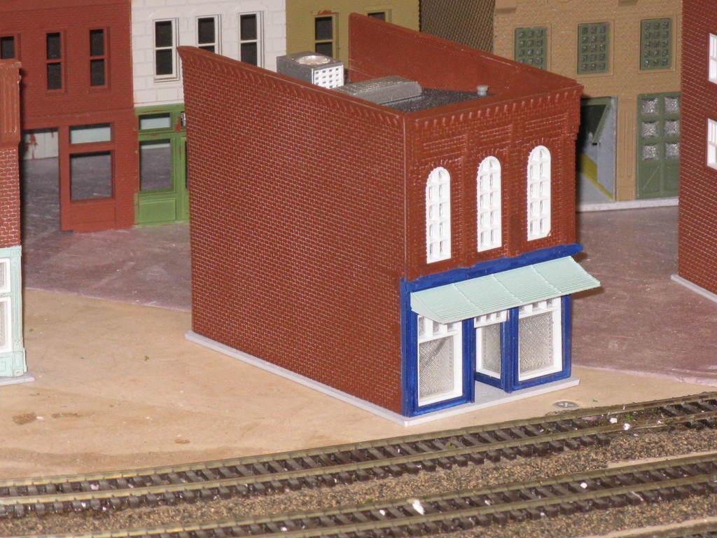 IMG_6599.JPG Télécharger fichier STL gratuit Échelle HO Main Street Two • Design imprimable en 3D, kabrumble
