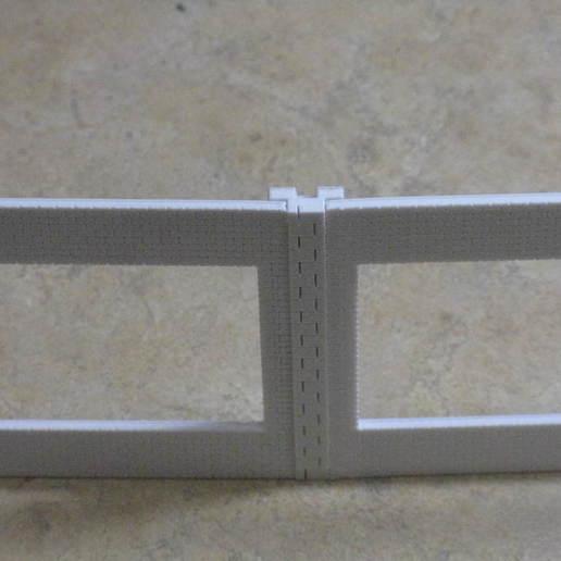 IMG_6577.JPG Télécharger fichier STL gratuit Maison des moteurs à deux étages à l'échelle NEW HO • Plan à imprimer en 3D, kabrumble