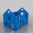 Télécharger fichier STL gratuit La maison de tante Ruby à l'échelle HO • Modèle pour imprimante 3D, kabrumble