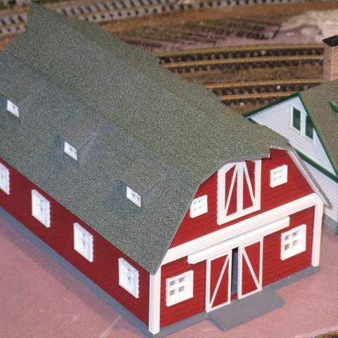 aefa838ae474d15041a57fa457f469bf_display_large.JPG Download free STL file HO Scale Big Red Barn • 3D printer template, kabrumble