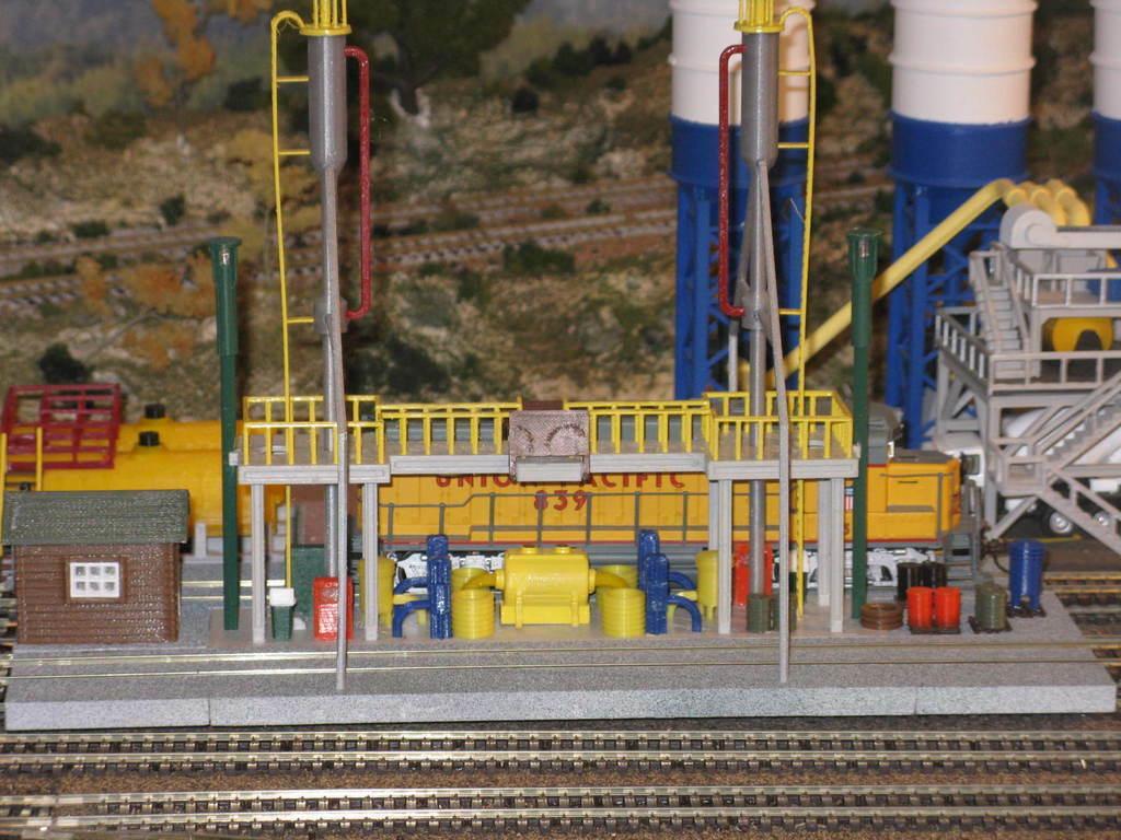 IMG_6782.JPG Download free STL file HO Scale Diesel Refueling Station • 3D printing template, kabrumble