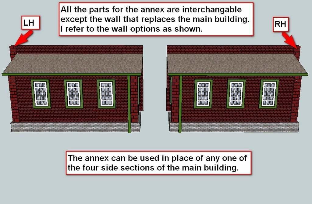 Machine_Shop_Explanation.jpg Télécharger fichier STL gratuit Maison des moteurs à deux étages à l'échelle NEW HO • Plan à imprimer en 3D, kabrumble