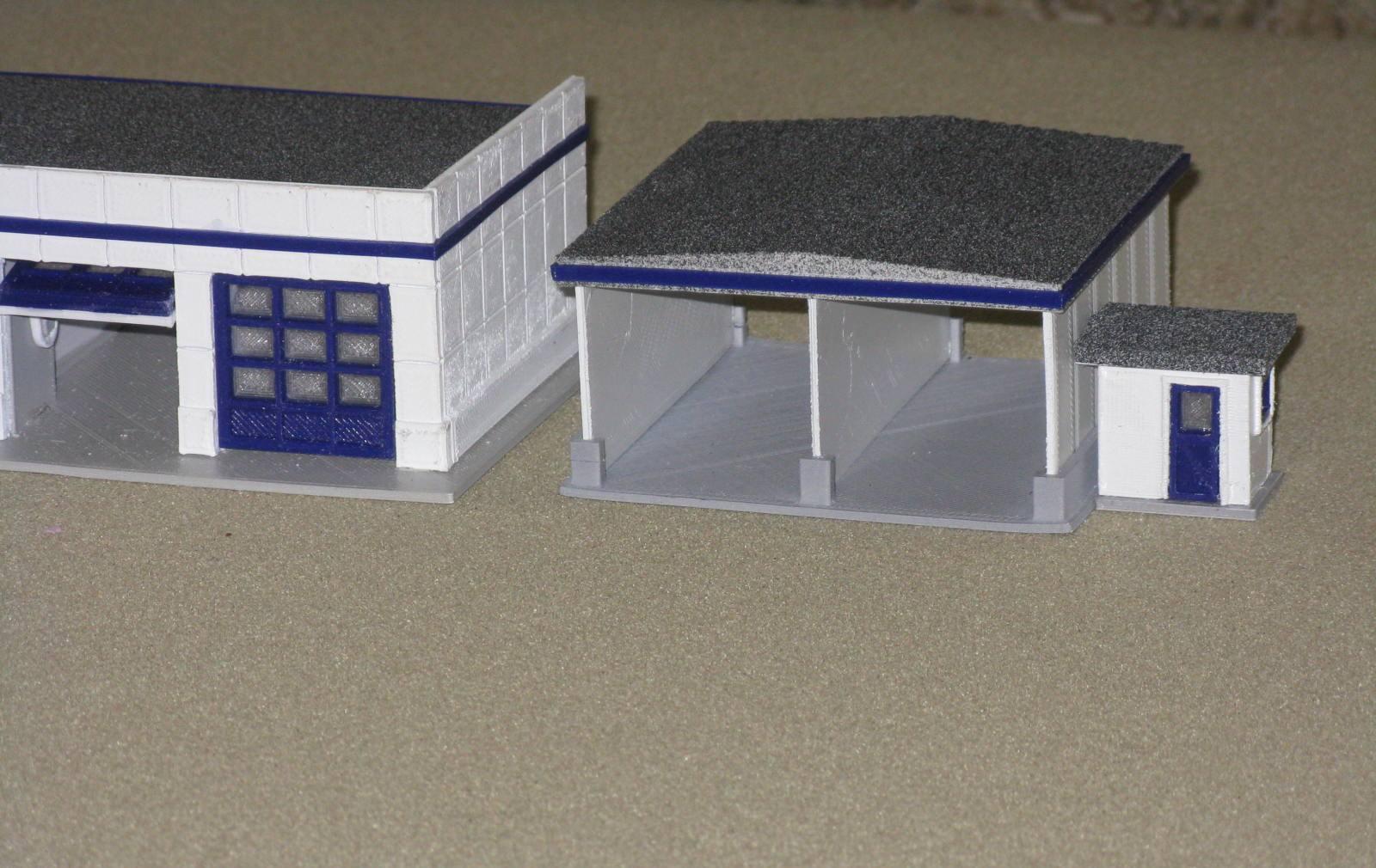Car_Wash_003.JPG Télécharger fichier STL gratuit Lave-auto à l'échelle HO • Design pour impression 3D, kabrumble