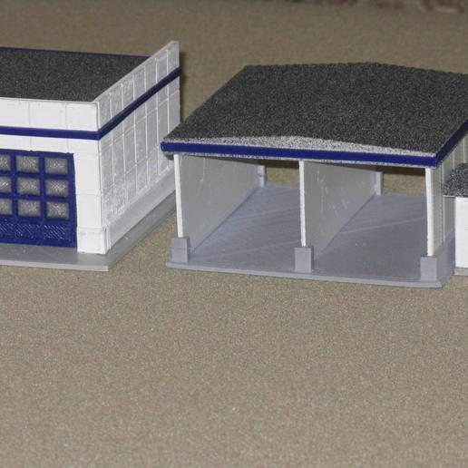 Download free 3D printer model HO Scale Car Wash, kabrumble
