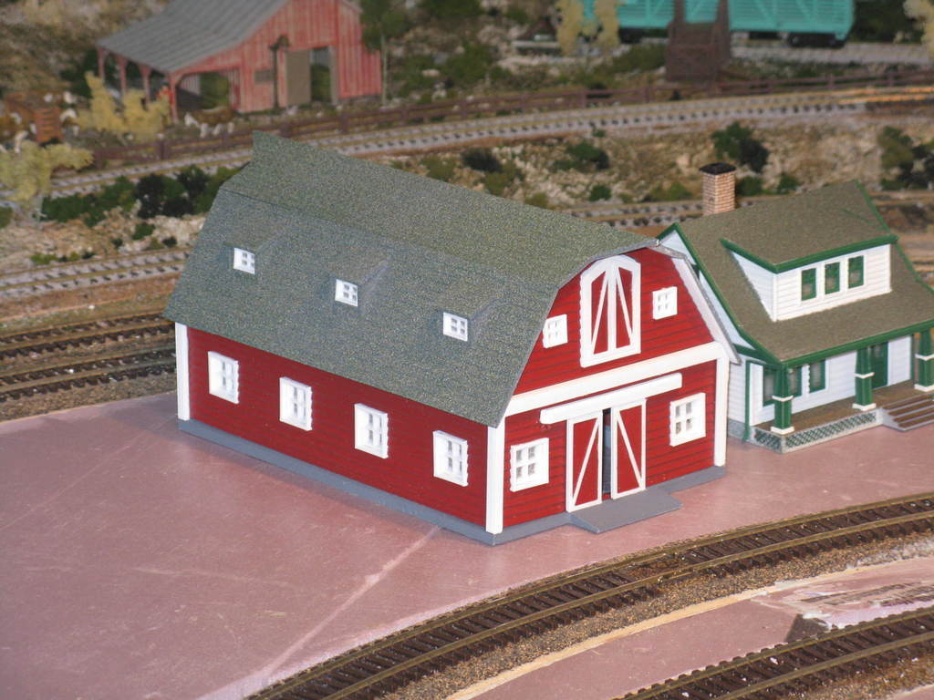 49f9f5f4f6012988dbbe15fab7fe822e_display_large.JPG Download free STL file HO Scale Big Red Barn • 3D printer template, kabrumble