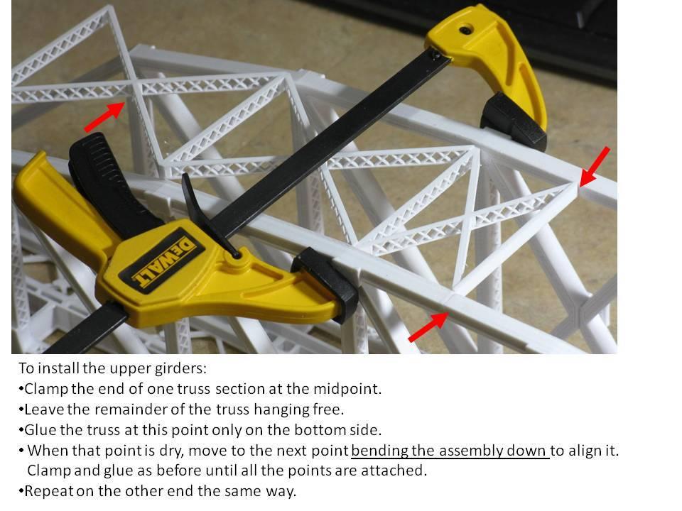 fddfc8a11f290495c711f47b961f8fe6_display_large.jpg Download free STL file HO Scale 145 ft Steel Arched Truss Bridge • 3D printer model, kabrumble
