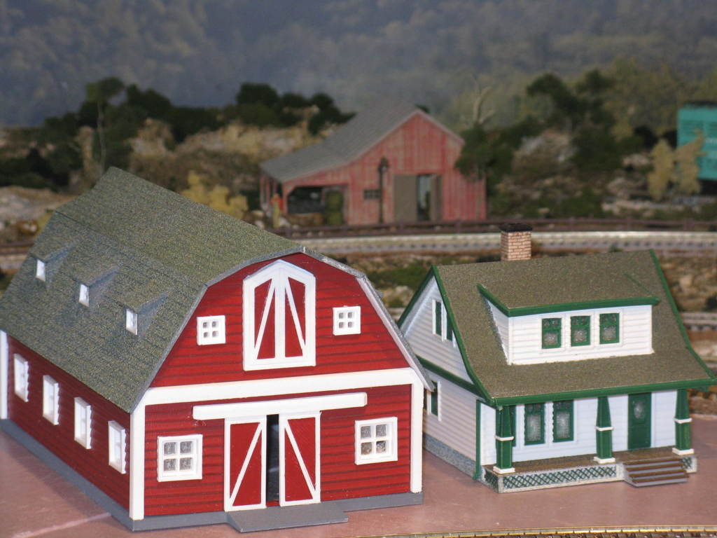ffac16c7c2af777a3e665a48767f1752_display_large.JPG Download free STL file HO Scale Big Red Barn • 3D printer template, kabrumble