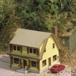 Descargar archivo 3D gratis Escala HO La Casa Puritana, kabrumble