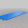 Download free 3D printing designs HO Scale Large Concrete Block Retaining Wall, kabrumble