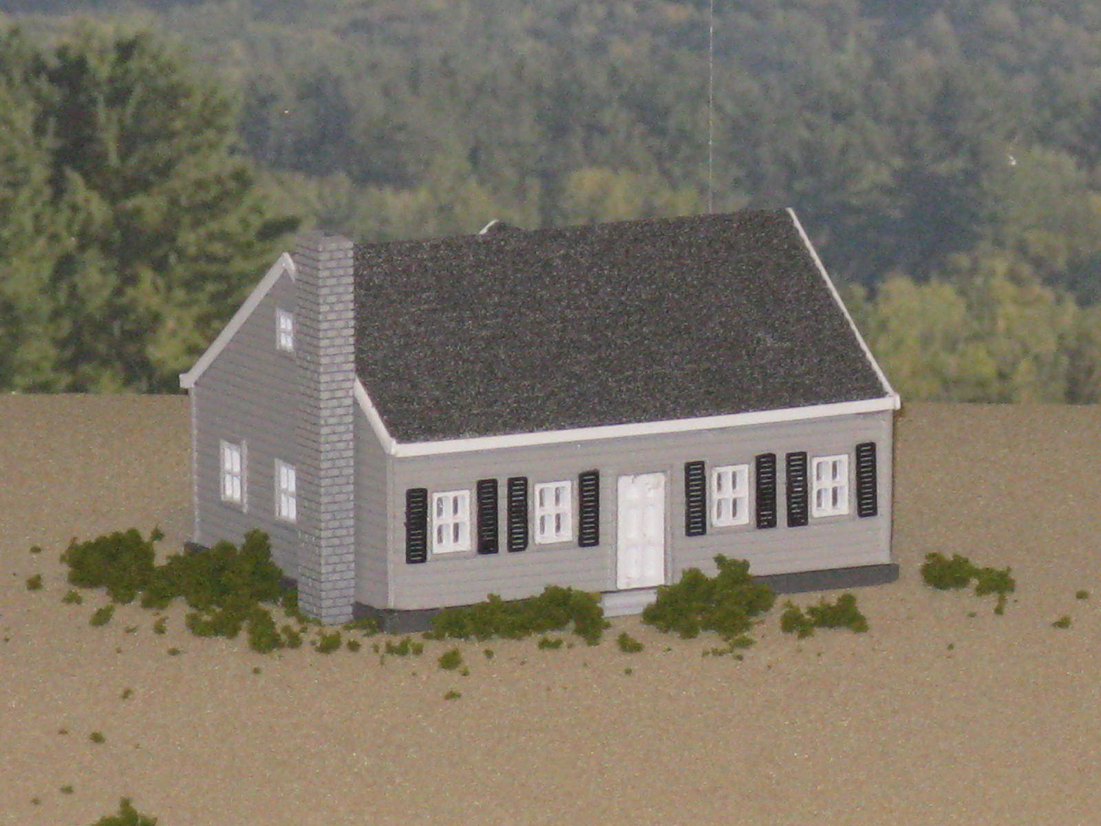 The_Cape_Cod_1.JPG Download free STL file HO Scale The Cape Cod • 3D printer template, kabrumble