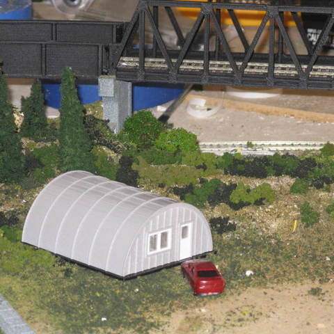 9c063ba98f71832fd3329a836827f130_display_large.JPG Download free STL file HO Scale Quonset Hut • 3D printer template, kabrumble
