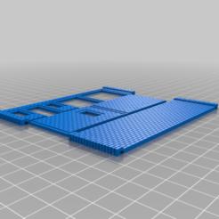 Walls.png Download free STL file HO Scale Vintage Gas Station • 3D printer design, kabrumble