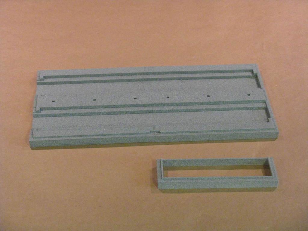 IMG_6570.JPG Télécharger fichier STL gratuit Maison des moteurs à deux étages à l'échelle NEW HO • Plan à imprimer en 3D, kabrumble
