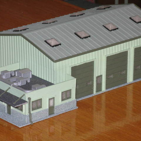 Free STL files HO Scale Yard Operations, kabrumble