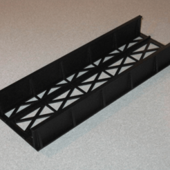 Free 3d printer model HO Scale Straight Bridge, kabrumble