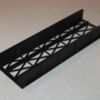 Capture d'écran 2018-05-15 à 09.55.19.png Download free STL file HO Scale Straight Bridge • 3D printing model, kabrumble