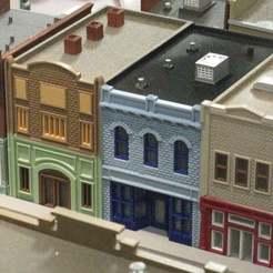 IMG_6704.JPG Télécharger fichier STL gratuit Échelle HO Main Street 10, 11 et 12 • Design à imprimer en 3D, kabrumble