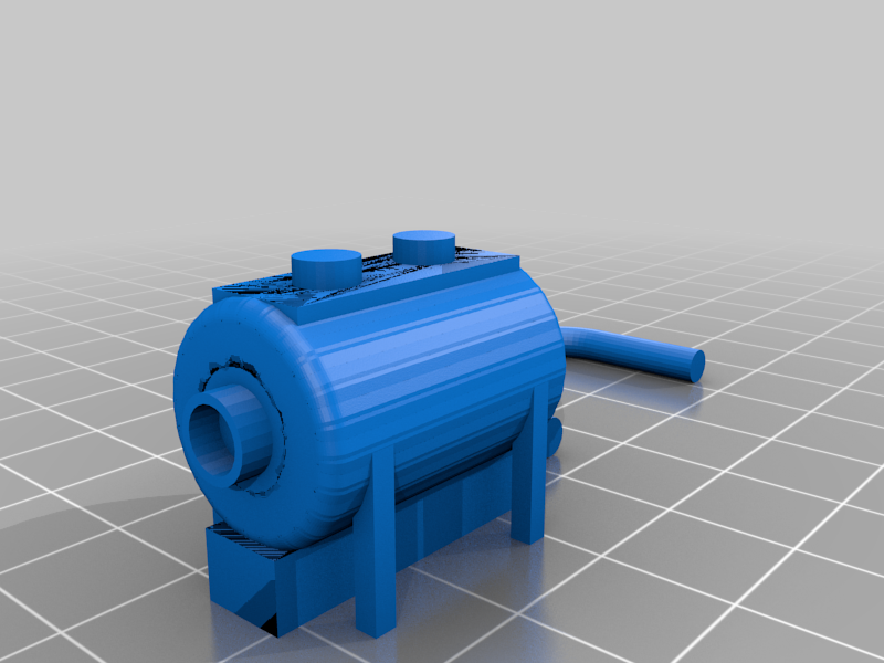 Diesel_Fuel_System.png Download free STL file HO Scale Diesel Refueling Station • 3D printing template, kabrumble