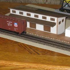 IMG_6650.JPG Download free STL file HO Scale Railway Transfer • 3D printer model, kabrumble