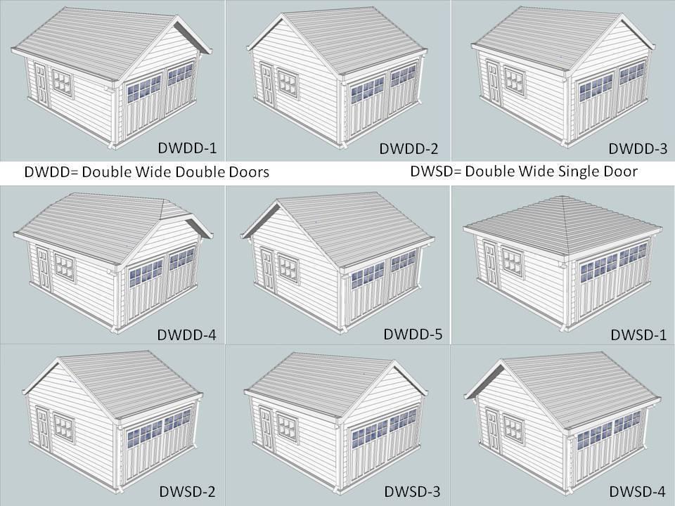 Door_Models_1.jpg Télécharger fichier STL gratuit Garages à l'échelle HO 28 Options • Design imprimable en 3D, kabrumble