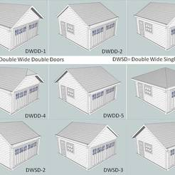 Download free 3D printer designs HO Scale Garages 28 Options, kabrumble