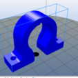 Captura.PNG Download STL file Bearing bracket 609 • 3D printer template, salti_ca