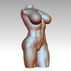 2.jpg Télécharger fichier OBJ Buste de déesse très détaillé • Modèle imprimable en 3D, atlust123