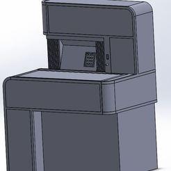 Download free STL file Jukebox Seeburg STD2 • Template to 3D print, alex20117
