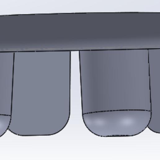 Capture4.PNG Download free STL file credit insert on pinball machine Zaccaria, Williams • 3D printable design, alex20117