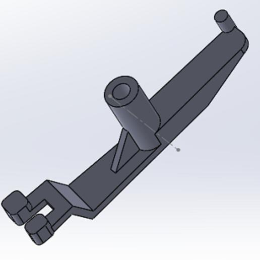 SA1.PNG Download free STL file Switch actuator 3B-7297 flipper williams • 3D print model, alex20117