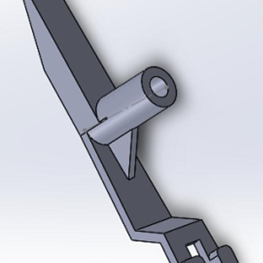 SW2.PNG Download free STL file Switch actuator 3B-7297 flipper williams • 3D print model, alex20117