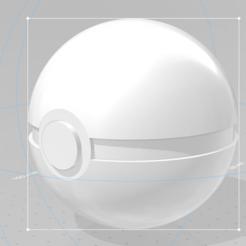 Capture.PNG Download free STL file Pokéball • 3D printable template, lopezclement43